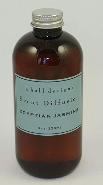 K Hall Designs Egyptian Jasmine Scented Reed Diffuser REFILL OIL ONLY