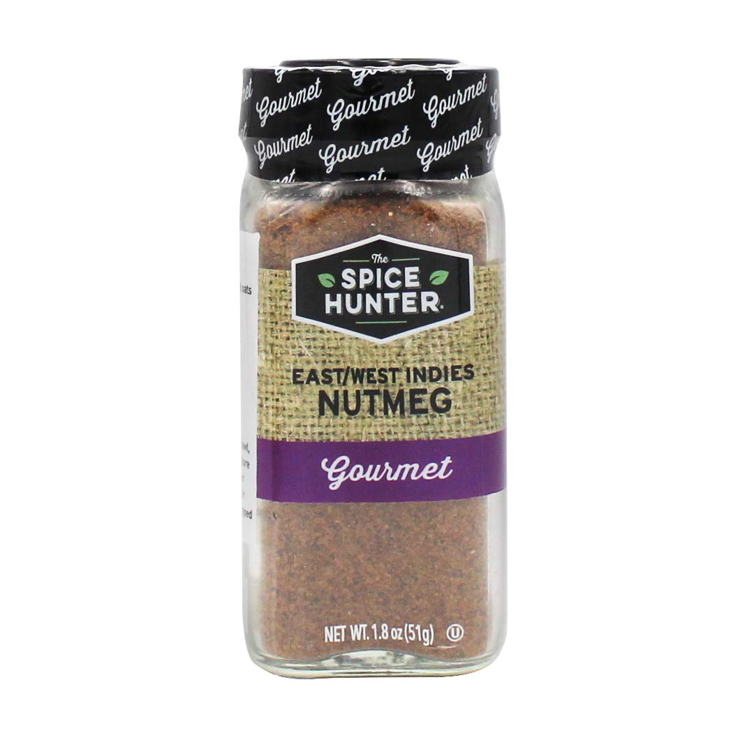 Spasm price The Spice Hunter Our shop most popular East West Indies 1.8 jar Nutmeg Ground oz.