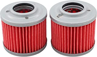 Pack of 2 Oil Filter for Bombardier DS650 Racer BMW G650GS F650 Funduro F650GS F650CS F650CS G650X Challenge Aprilia Pegaso 650 G650X Country MZ 125RT 125SM 125SX