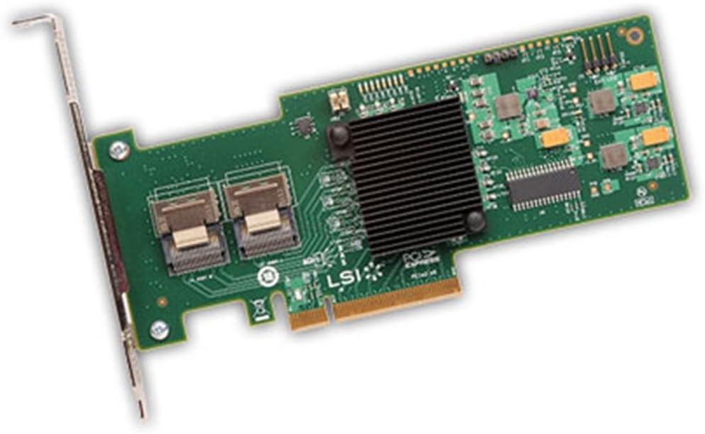 LSI Logic 8-Port Int, 6GB/S Sata+SAS, Pcie 2.0, Entry; Megaraid SAS 9240-8I, Two Mini-SAS