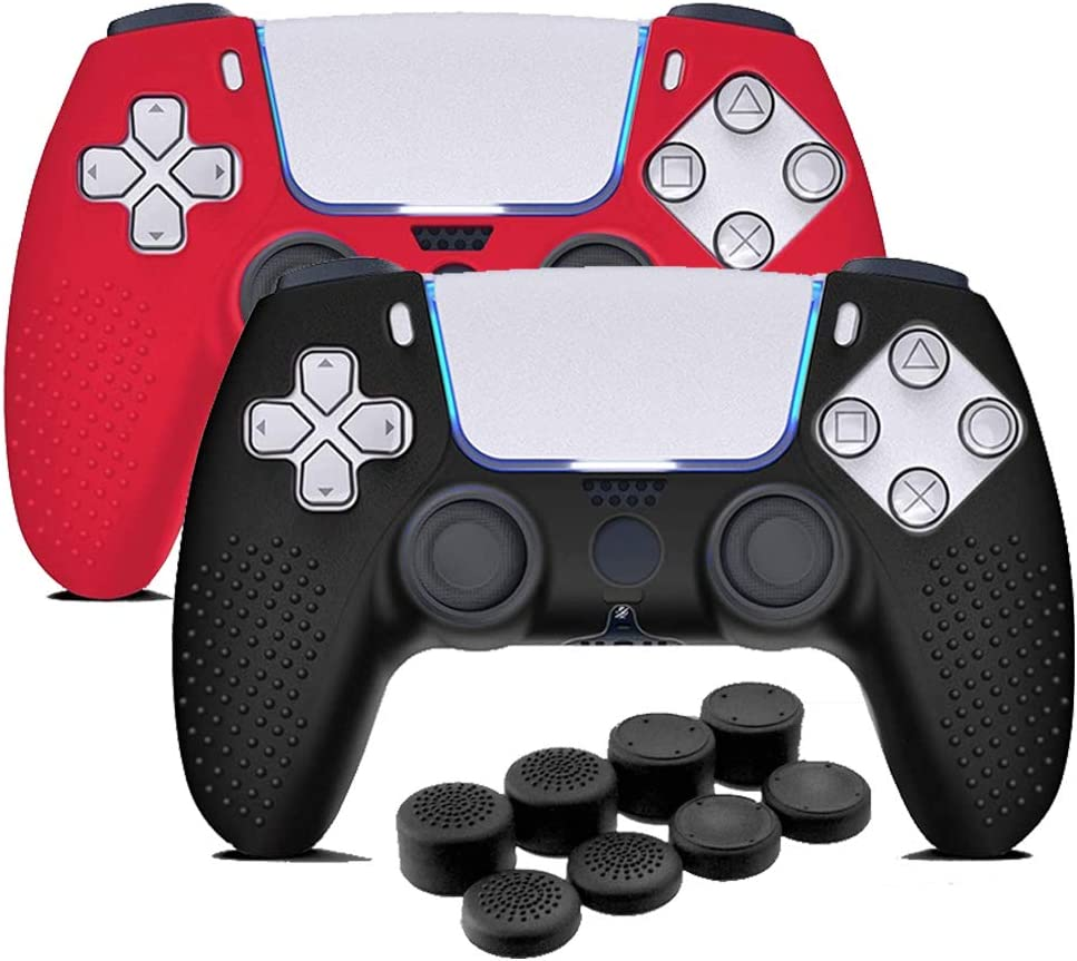 Max 65% OFF PS5 Controller Skins Anti-Slip Silicone Great interest Han Case Cover Protector
