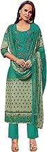 Ladyline Salwar Kameez Cotton Embroidered & Printed Indian Pakistani Womens Dress