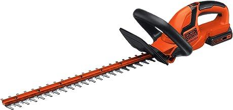 BLACK+DECKER 20V MAX Cordless Hedge Trimmer, 22-Inch (LHT2220),Orange