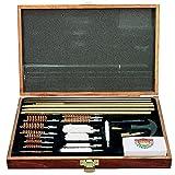 Gunmaster 42 Piece Universal Gun Cleaning Kit Wood Case