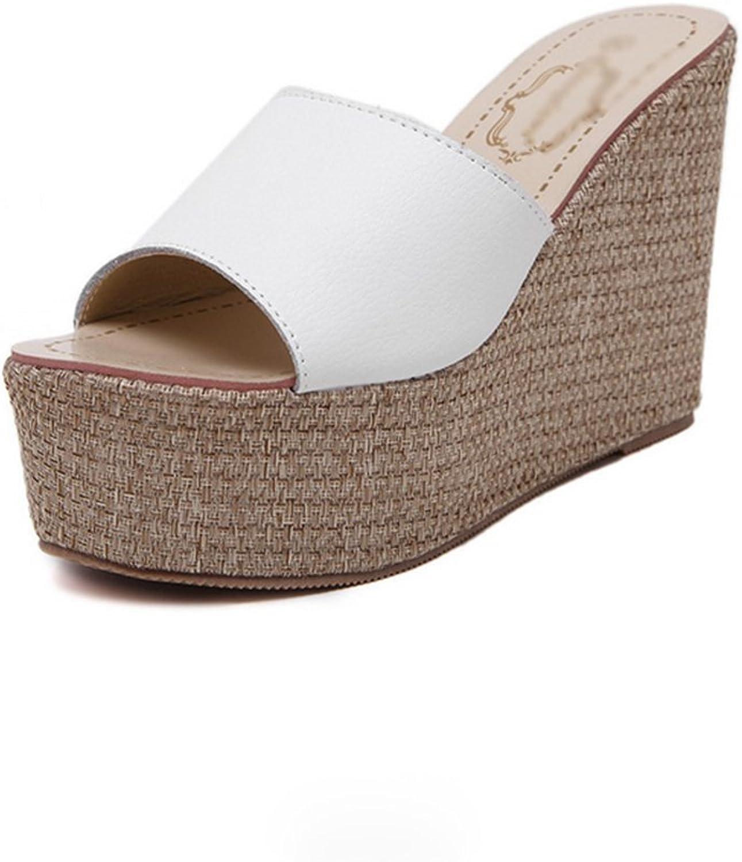 Weiwei Women's High-Heeled Sandals, Summer Fashion Sandals High Heels Beach Slippers