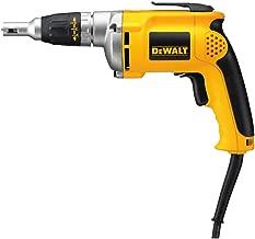 DEWALT DW272W 6.3-Amp Variable-Speed Reversing Drywall Screwdriver with 50' Regular Cord