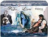 Verdi, G.: Rigoletto / La traviata / Puccini, G.: Tosca (3 Live Films, 1992-2010) [Blu-ray]