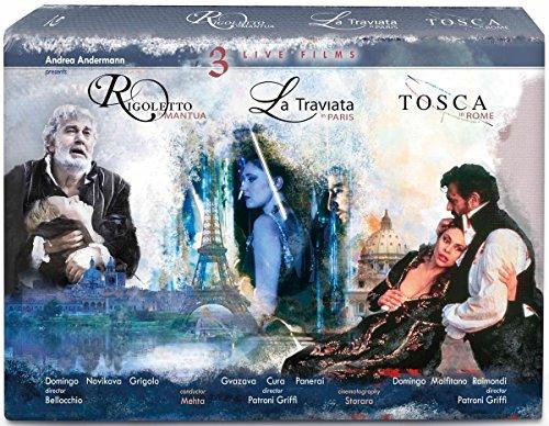 Verdi: La Traviata, Rigoletto & Tosca [3 Blu-rays]