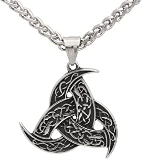 Best triple horn of odin necklace Reviews