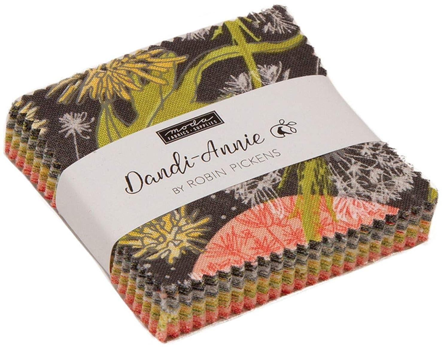 Dandi-Annie Mini Charm Pack by Robin Pickens; 42-2.5 Inch Precut Fabric Quilt Squares