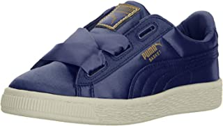 PUMA Kids' Basket Heart Tween Sneaker