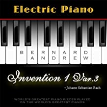 J. S. Bach: Invention No. 1 in C Major, BWV 772: Variation No. 3 (Electric Piano Version)