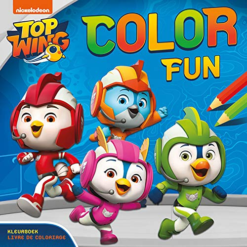 Top Wing Color Fun: Kleurboek