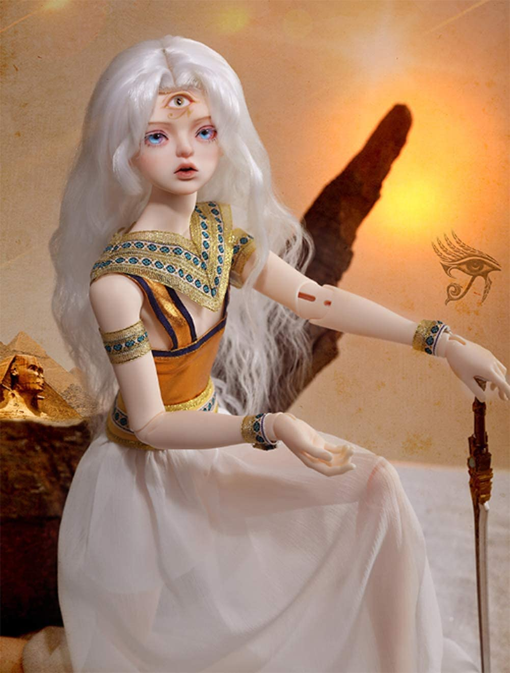 NIHE BJD Doll 1 4 SD Dolls Toys Jointed C Max 87% OFF Ball 16 DIY New York Mall Inch
