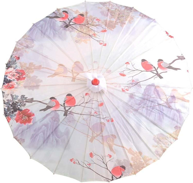 sdfpj Decorative U-mbrella NEW Chinese Style Sil Paper Memphis Mall Oil