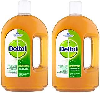 1.5L Dettol Antiseptic Liquid Disinfectant First Aid Original (2x750mL)