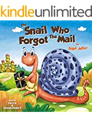 THE SNAIL WHO FORGOT THE MAIL (Children's Bedtime Picture Books -Animals Book 1)