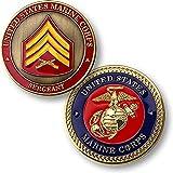 U.S. Marine Corps Sergeant Challenge Coin