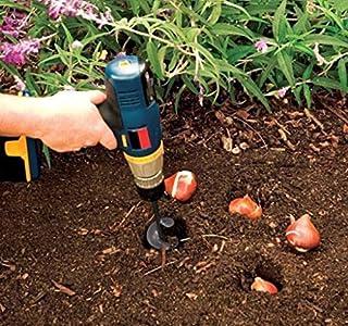 TianranRT Nueva Jardinera Jardín Caracol Excavadora Taladro Broca Accesorio 46 * 370 mm