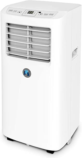 JHS 8 000 BTU Small Portable Air Conditioner 3 In 1 Floor AC Unit With 2 Fan Speeds Remote Control And Digital LED Display Cover Up To 200 Sq Ft