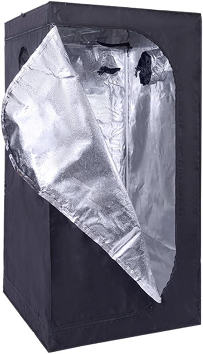 AJLDN Armario Cultivo Interior, Grow Tent Water-Resistant Mylar HidropÓNica Crecer Tienda 40x40x120cm Caja de Cultivo Interior para Cultivo De Plantas En Interior,K