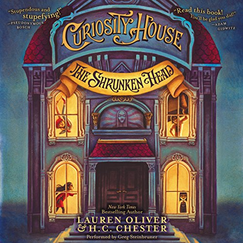 Curiosity House: The Shrunken Head audiobook cover art