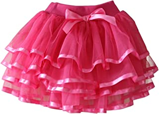 Tortoise & Rabbit Little Girls and Big Girls Tulle Tutu Skirt