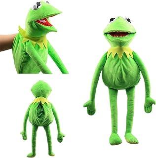 N/K Kermit Frog Puppet Show Plush Toy Sesame Street Doll Children's Gifts