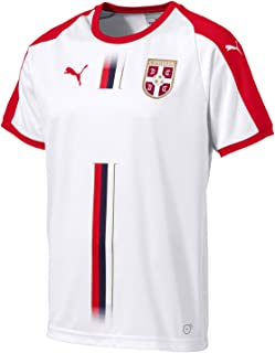 Serbia Men's Away Jersey World Cup Russia 2018 (L) White