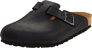 Birkenstock Schuhe Boston Geöltes Nubukleder Schmal
