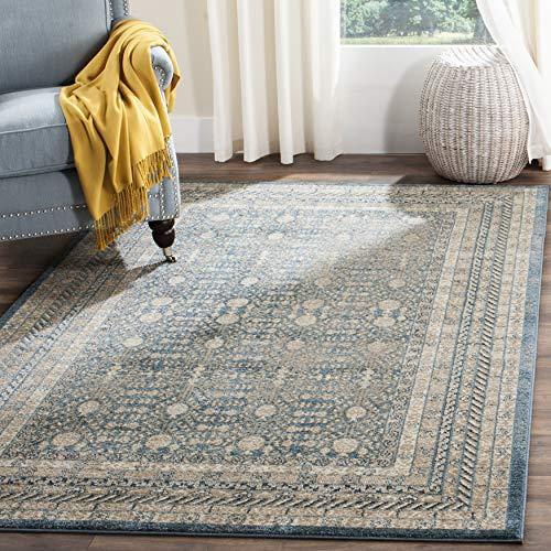 Safavieh Moderner Chic Teppich SOF376 Gewebter Polypropylen Blau / Beige 120 X 180 cm