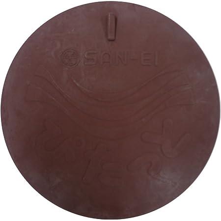 SANEI 排水口カバー 流し排水用 ぴたっとL シンクのフタ つけ置き洗いの水ため オキシ漬け 直径185mm 臭い止め PH69-L ブラウン