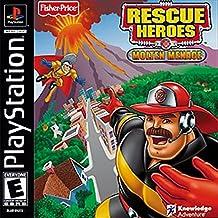 Rescue Heroes Molten Menace PS