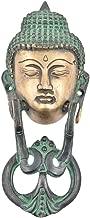 Indianshelf Handmade 1 Piece Vintage Artistic Brass Antique Buddha Face Door Knockers