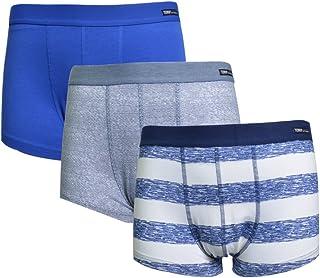 Terra Men's Underwear Low Rise Trunks 3 Pack Cotton Stretch Boxer Brief