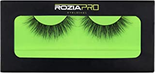 Fake Eyelashes Rozia Reusable 100% Handmade Soft Long Thin Natural look False Eyelashes Artificial Eyelashes