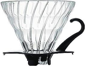 Hario VDG-02B Glass Coffee Dripper, Black