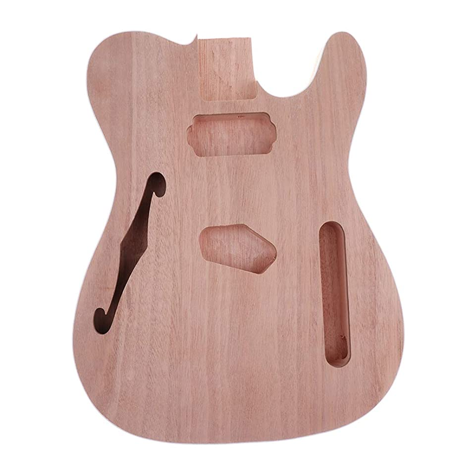 Flameer Barrel Material Unfinished Handcraft Guitar Wood Body for Telecaster Electric Guitar Parts