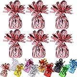 24 Stücke Folie Helium Latex Ballon Gewichte Ideal Party Dekoration Zubehör (Weight-Rose Gold)