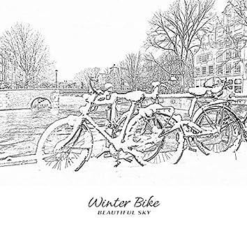 겨울 자전거