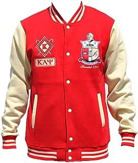 Big Boy Headgear Kappa Alpha Psi Fraternity Men's Fleece Jacket 3XL Crimson Red