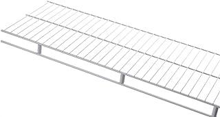 Rubbermaid 3D9900WHT Laminated Closet Shelf, 2-Inch by 4-Feet, White