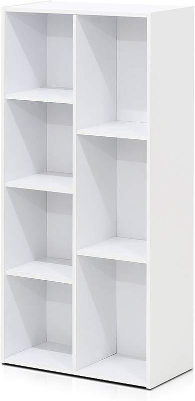 Furinno 7 Cube Reversible Open Shelf White 11048WH