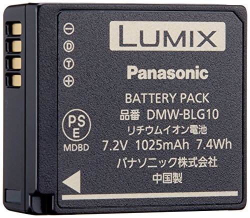 パナソニック デジタルカメラオプション バッテリーパック DMW-BLG10