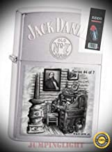 28756 Jack Daniels Scenes from Lynchburg #4 4777 Unit Lighter with Flint Pack - Premium Lighter Fluid (Comes Unfilled) - Made in USA!