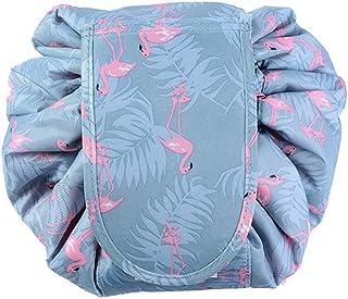 【JLM-Waroom】 Simple portable cosmetic bag High-capacity wallet cosmetic bag Cosmetic bag travel storage bag (Flamingos)