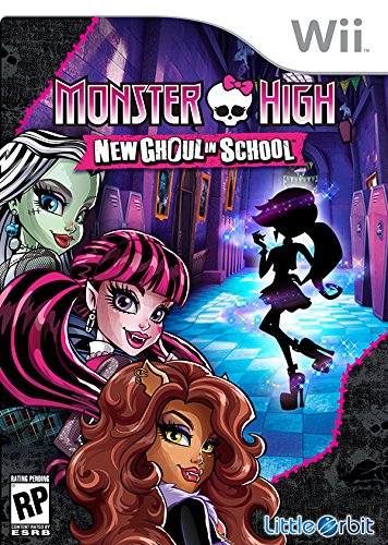 Monster High New Ghoul in School - Wii
