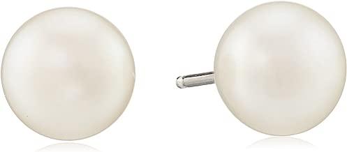 Honora Sterling Silver Freshwater Cultured Pearl Stud Earrings
