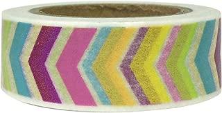 Wrapables Colorful Washi Masking Tape, Rainbow Arrows