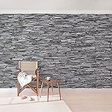 Apalis Arizona 94539 - Papel pintado fotográfico ancho, diseño de muro de piedra,...